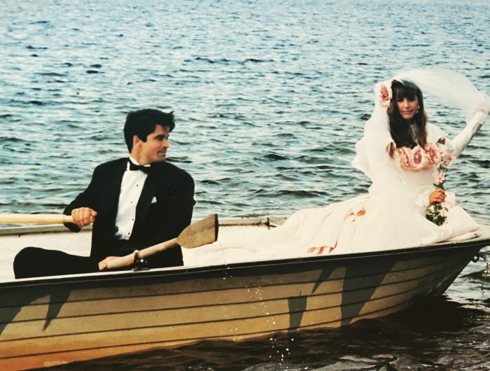 la mariée en chaloupe