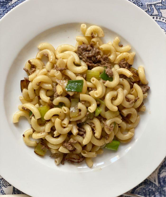 recette facile du macaroni chinois