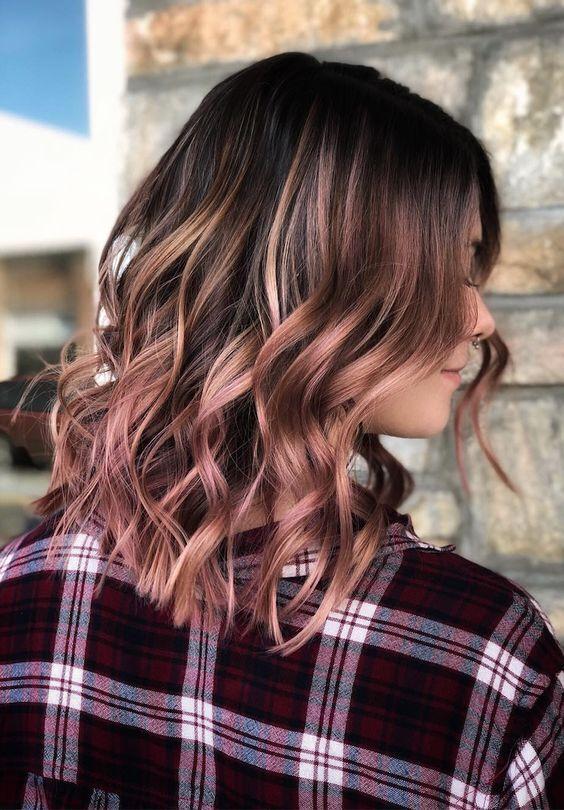 smoky hair rose