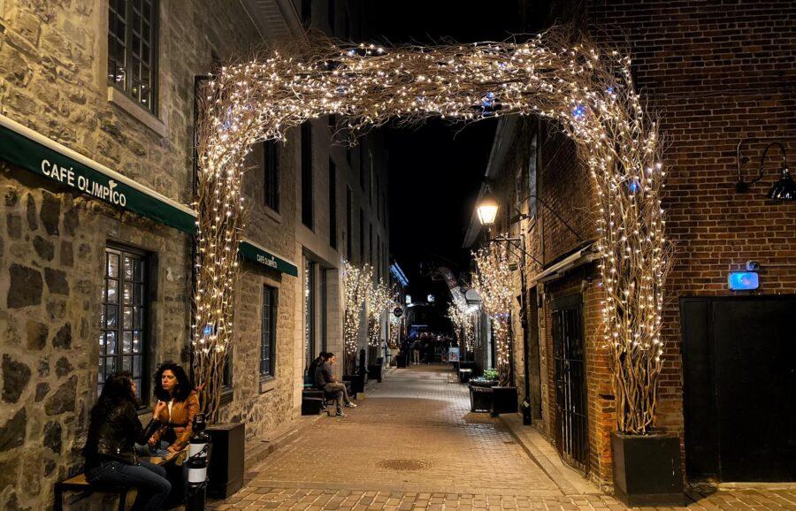 belles terrasses du vieux-montreal