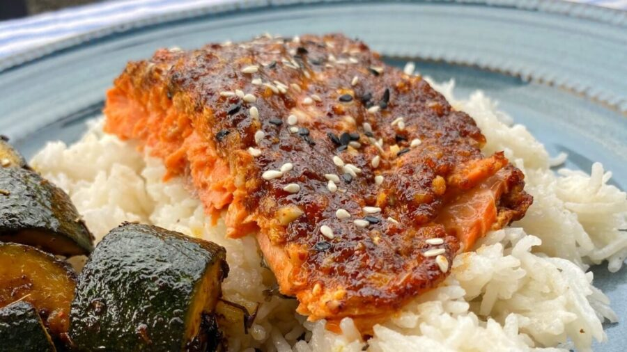 recette du saumon à l'érable