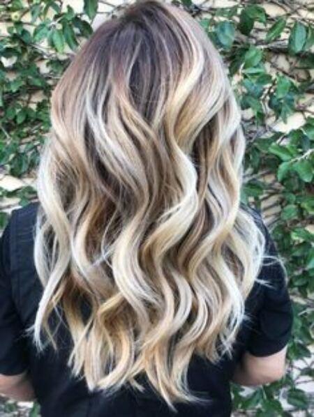 smoky blond