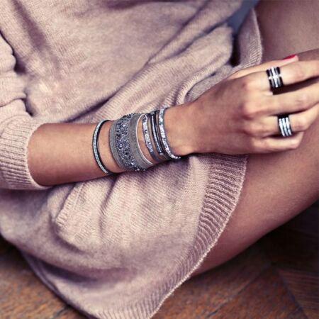 Les Interchangeables images bracelets empilés