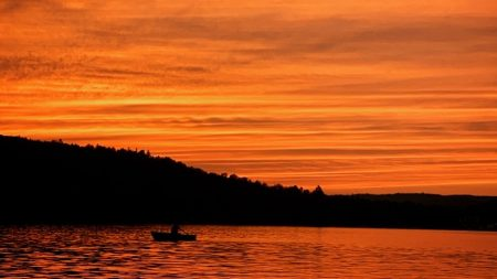 plus beaux couchers de soleil de l'été